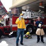 Les scientologues offrent des repas aux pompiers, à la police et aux travailleurs médicaux