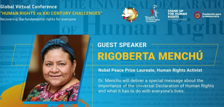 Journée internationale des droits de l'Homme en ligne pour promouvoir la paix