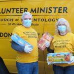 Les bénévoles scientologues et les associations de Seattle face à la pandémie