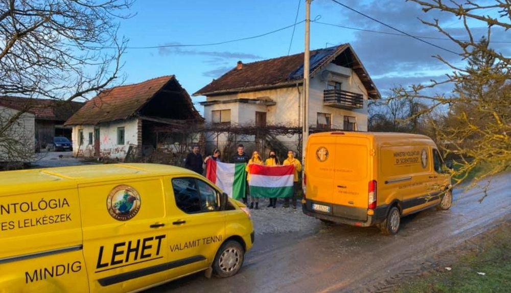 Croatie : les scientologues hongrois et italiens fournissent une aide vitale aux familles