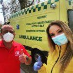 Les Ministres Volontaires de Scientology répondent aux besoins du personnel d'urgence hongrois