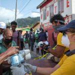 Les bénévoles scientologues portent assistance à une île sinistrée