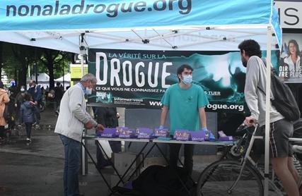 Une mobilisation nationale pour lutter contre les dangers des drogues