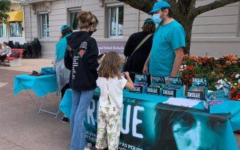 Les bénévoles ont injecté une bonne dose de prévention contre la toxicomanie