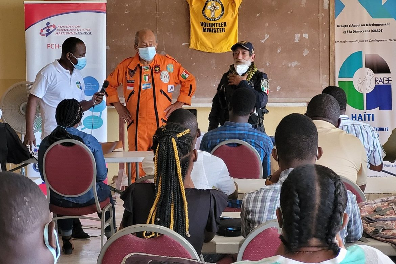 La police et les responsables publics en formation pour faire face aux catastrophes naturelles