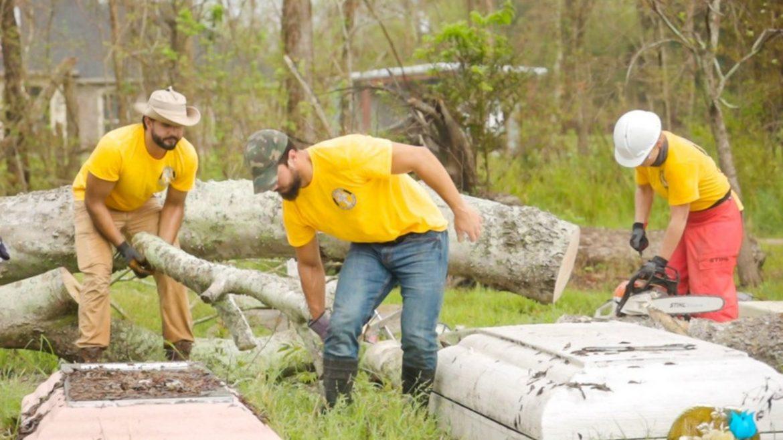 Les bénévoles scientologues continuent de porter secours aux sinistrés de l'ouragan Ida